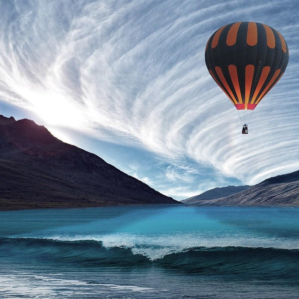 Ballongflygning är en fantastisk upplevelse
